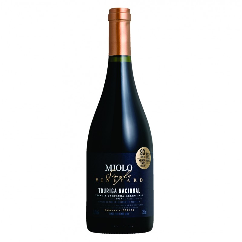 Vinho Tinto Miolo Single Vineyard Touriga Nacional